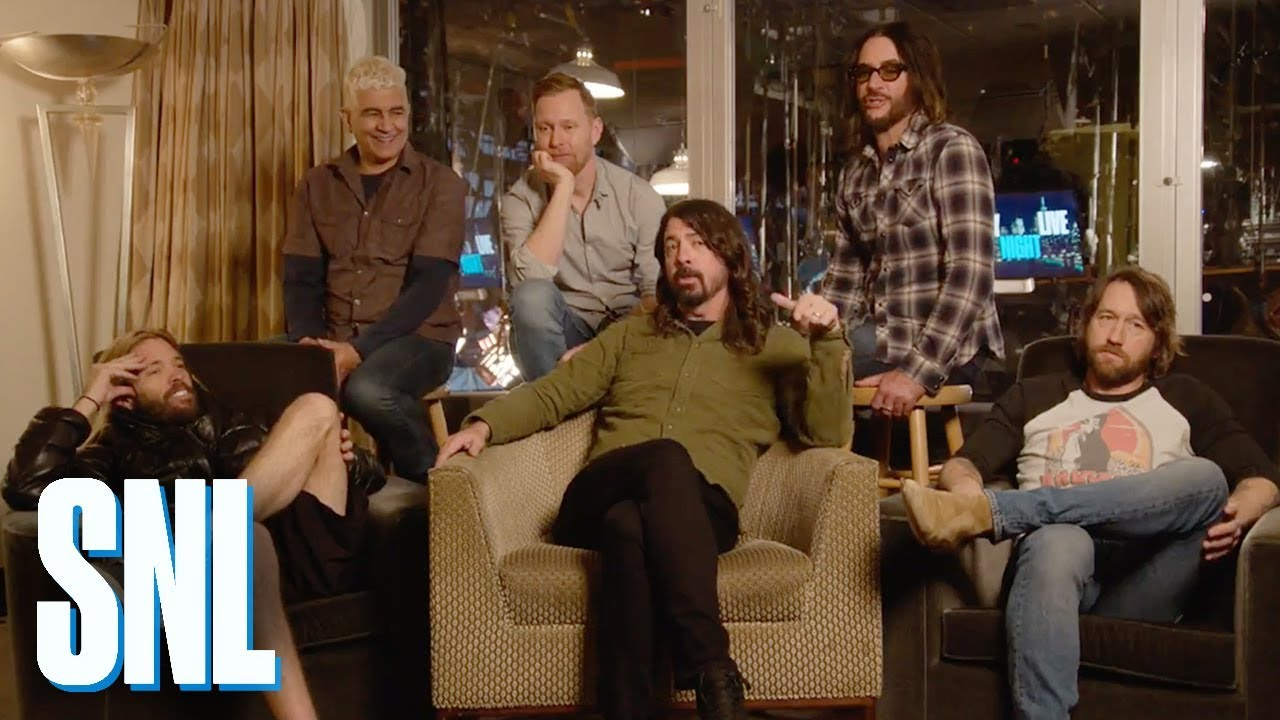 Foo Fighters Snl Christmas.Creating Saturday Night Live Foo Fighters