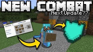 Minecraft - NEW COMBAT ? Shields ? [ Next Update? ] MCPE / Xbox / Switch / Bedrock