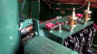 Ruston and Hornsby 2VSO engine