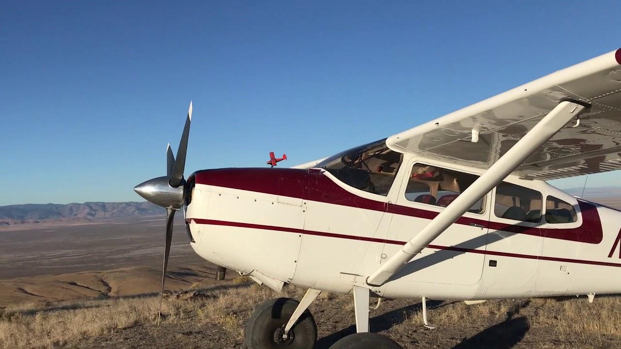 Carbon Cub fun and two Kitfox aircraft at high speed