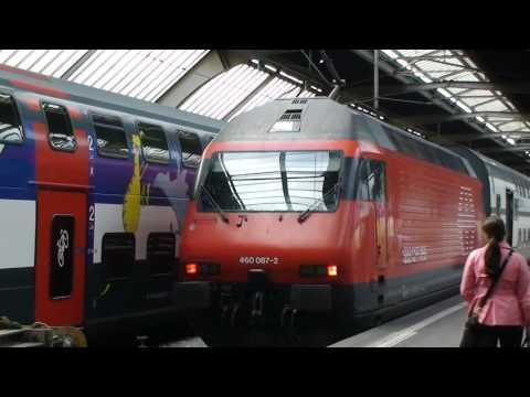 Travel trains Switzerland - Zurich to Lucerne