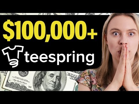 5 Teespring T-Shirts That Made Over $100,000+ 🤑💃 (How To Make Money With Teespring)