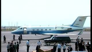 Bill Clinton boards jet from India: what plane is that?