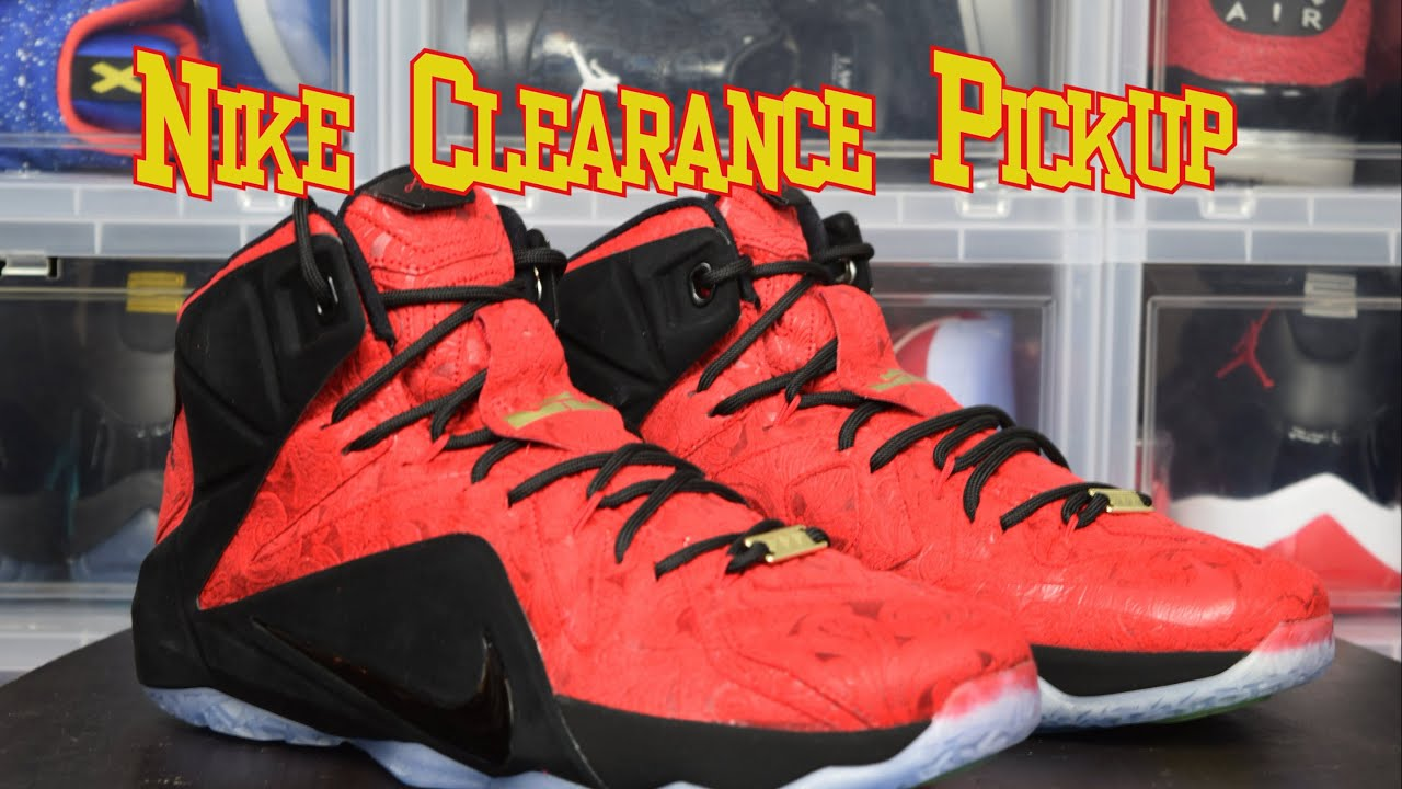 Nike Clearance Pickup / Lebron 12 Kings Cloak / Paisley Unboxing and Review  ( @air_trafficking )