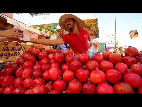 Morocco Street Food - MARRAKESH'S BEST STREET FOOD GUIDE! CRAZY Halal Food tour in Morocco!!