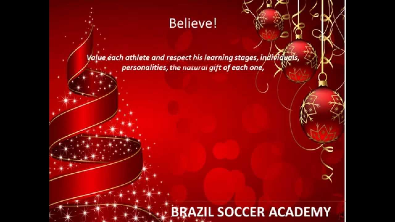 Brazil soccer academy wish you a merry christmas and happy new year brazil soccer academy wish you a merry christmas and happy new year 2015 youtube m4hsunfo