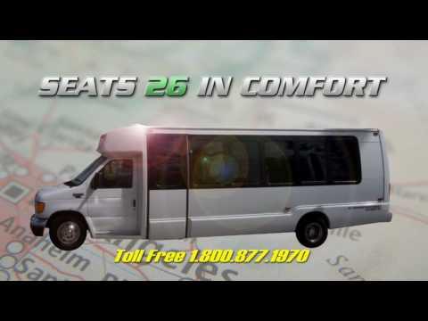 Minibus Rental Los Angeles GTS Los Angeles Charter Minibus Rentals Charters Minibus LA los angeles