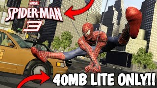 [40MB] How To Download And Install SpiderMan 3 Highly Compressed In Any Android Device