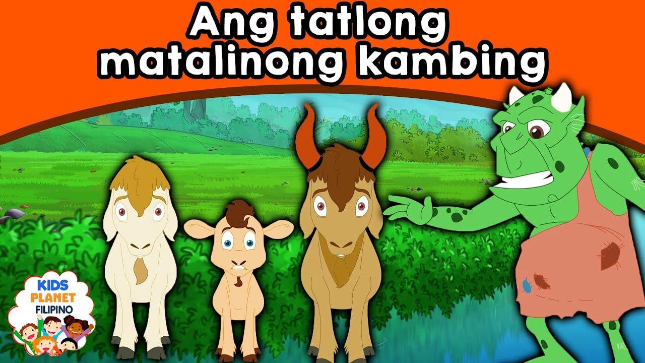 Ang tatlong matalinong kambing | Kwentong Pambata | Mga
