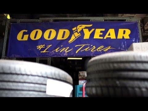 Goodyear stock rising like its blimp