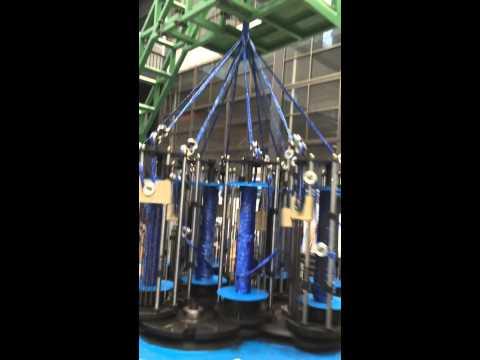 12 Strands Rope Braiding Machine