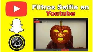 Como usar Snap Camera en Youtube (filtros selfie Snapchat)