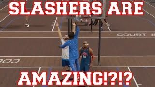 NBA 2K17 - Slashers are a Great Build!?!? (Feat. JLockEmUp)