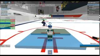 Kid Rages In Roblox Hockey