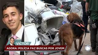 Caso Victor: polícia utiliza cães farejadores nas buscas