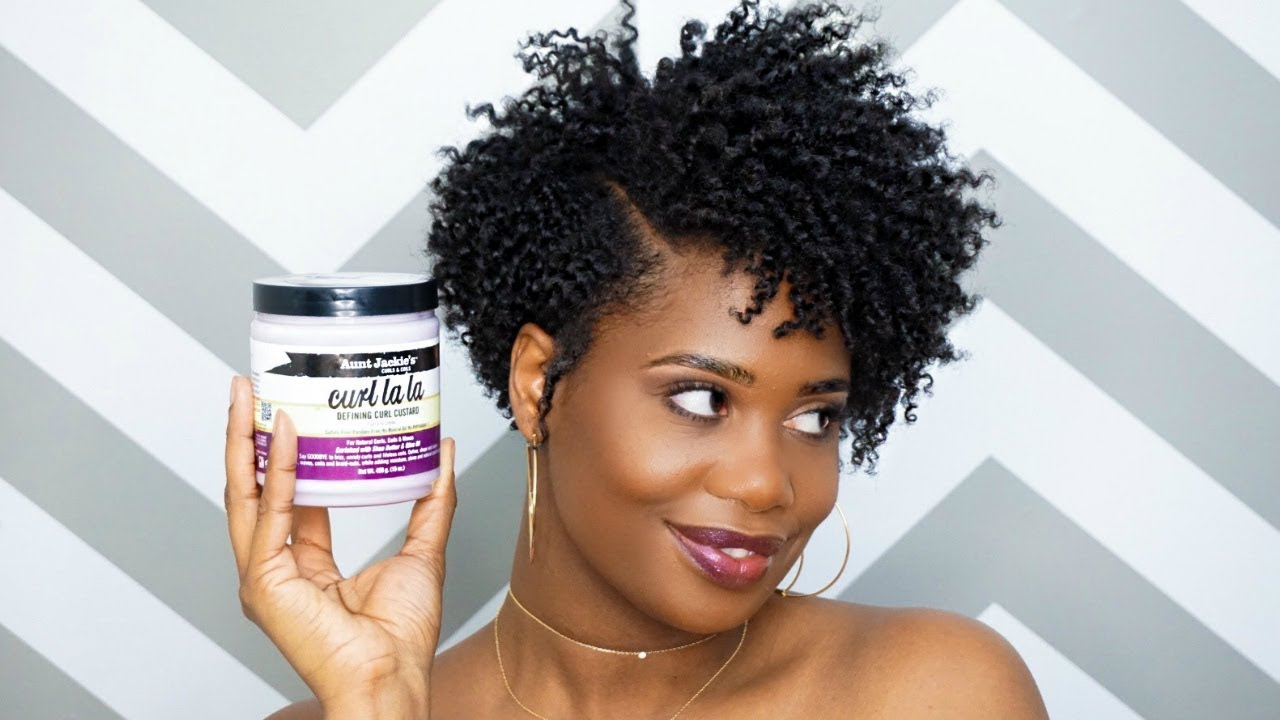 SUPER Defined Twist-out using Aunt Jackies Curl LaLa Custard | MissKenK