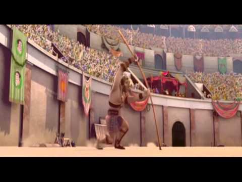 Гладиаторы Рима = Gladiatori di Roma = мультфильм, комедия, приключения = премьера 7 февраля 2013 Димдимычу нужно поздравить бабушку с днём рождения,