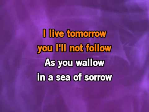 Alice in Chains Sea Of Sorrow WMV Karaoke