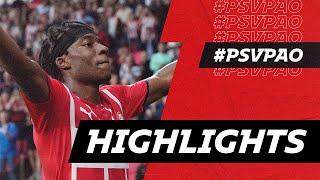 Final test in pre-season 👊 | HIGHLIGHTS PSV - PAOK FC