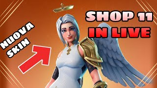 SHOP 11 JENNAIO IN LIVE - WE'ReCALLED LO SHOP INSIEME - New Team Samples ( FORTNITE )