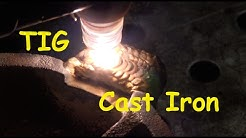 TIG Welding/Brazing Cast Iron Vise