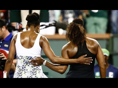 BNP Paribas Open 2018: Venus Williams vs. Serena Williams | Highlights