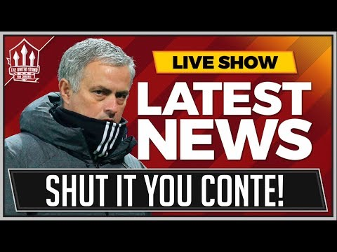 MOURINHO Wrecks CONTE In MANCHESTER UNITED Press Conference | Man Utd News