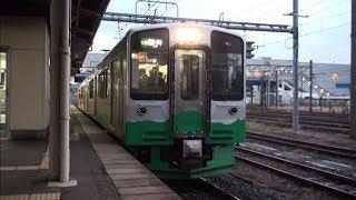 【トキ鉄】えちごトキめき鉄道 妙高はねうまライン 普通新井行 Japan Niigata Echigo TOKImeki Railway Myoko Haneuma Line Trains