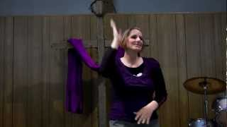 Butterfly by Seven Day Jesus ASL sign language