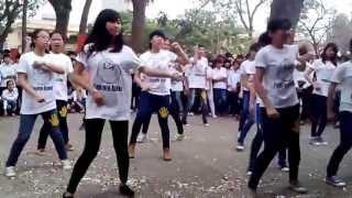 Flashmob Sống Thật Một Cá Tính   11A1 Ứng Hòa A