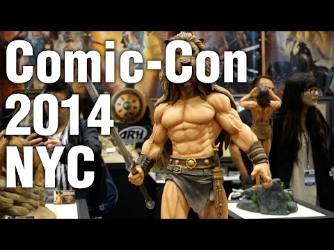 NYC Comic-Con 2014 Saturday 11th October - Our First Visit to Comic-con NYC 2014