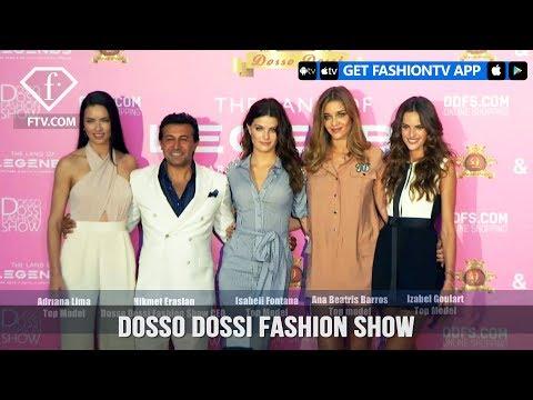 Dosso Dossi Fashion Show F/W 17-18 ft. Adriana Lima&Isabeli Fontana | FashionTV