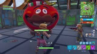 FORTNITE GLITCH!! (Enemy side on food fight)
