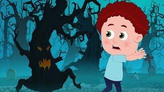 Gỗ đáng sợ | Halloween vần điệu | Bài hát đáng sợ | Baby Songs | Scary Rhyme For Kids | Scary Woods