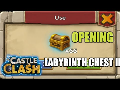 Castle Clash | Open 66 Labyrinth Chest II