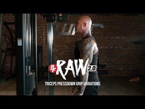 Triceps Pressdown Grip Variations | Dr. Jim Stoppani