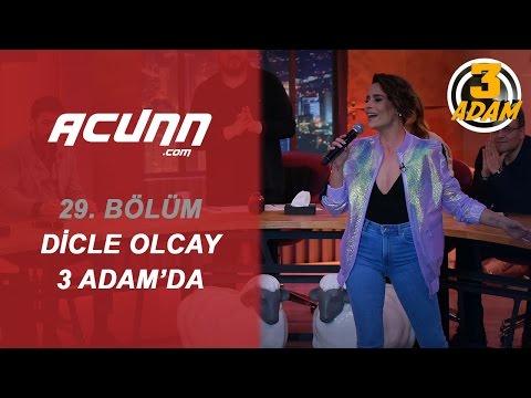 Dicle Olcay 3 Adam Sahnesinde! | 3 Adam