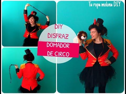 Diy Disfraz Domadora Circo Youtube