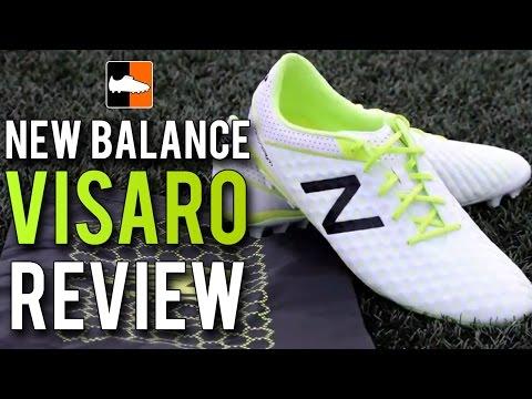 88d87cac43ba New Balance Visaro Pro Review   White & Toxic Football Boots - YouTube