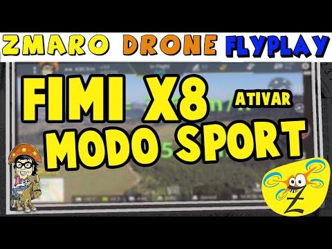 Zmaro FlyPlay Com Drone Fimi X8: Ativar Modo Sport, Bug No App, Pano E Mais...
