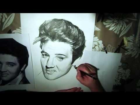 Ritratto di Elvis Presley - Elvis Presley Portrait