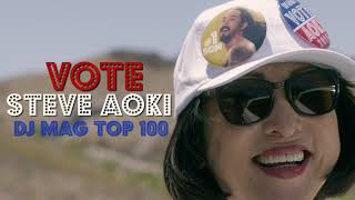 Drive Safely, Vote Aoki 2018