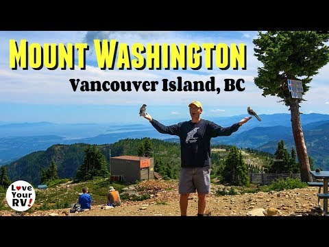 Gorgeous Mt. Washington + Comox Harbour (Vancouver Island, BC Day Trip)