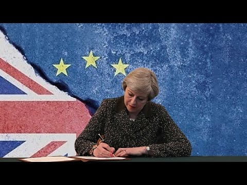 UK invokes Article 50 in EU Council letter