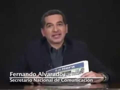Fernando Alvarado defiende a la empresa brasilera Odebrecht