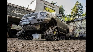 Гусеницы Wheeltracks на Toyota Tundra / Toyota Tundra Wheeltracks 4x4 Tundra