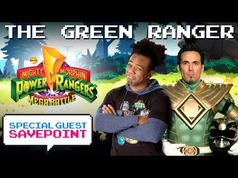 """THE GREEN RANGER"" JASON DAVID FRANK morphs into action! — Special Guest Savepoint"