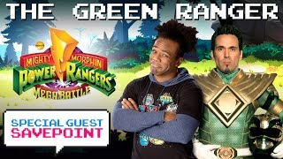"""THE GREEN RANGER"" JASON DAVID FRANK morphs into action! - Special Guest Savepoint"