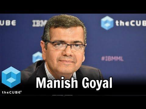Manish Goyal, IBM | IBM Fast Track Your Data 2017