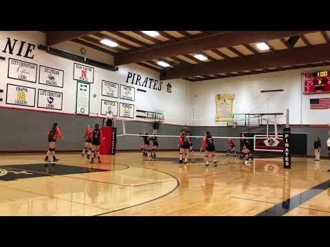 Nestucca High School vs Neah Kah Nie High School Volleyball 2018.09.06